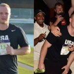 Pierde una apuesta y paga corriendo un maratón