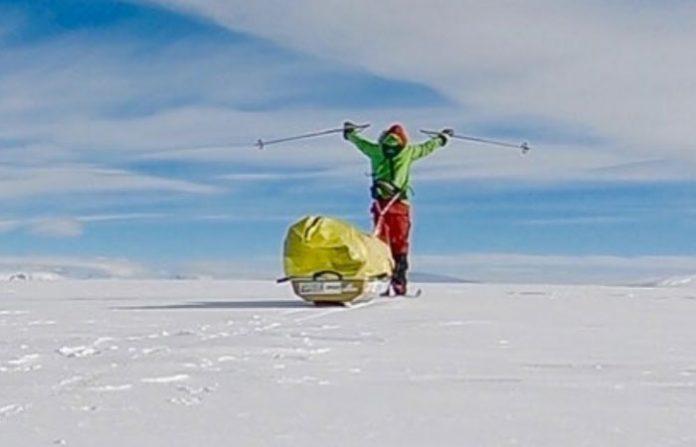 Cruce en solitario de la Antártida