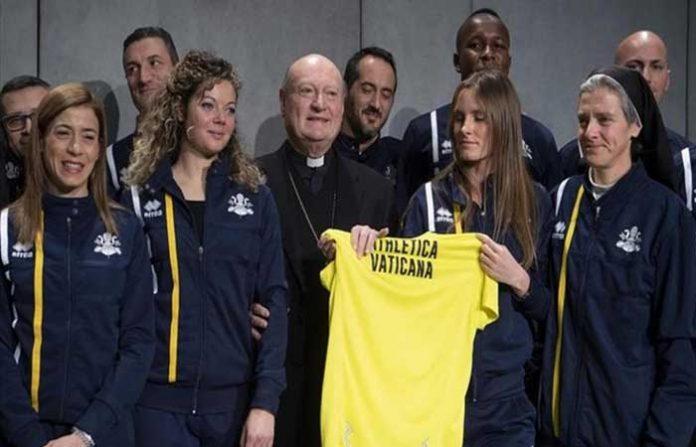 atletismo en el Vaticano