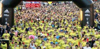 Largada de un maraton
