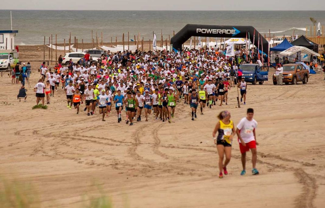 Se corrió la clásica Maratón del Desierto