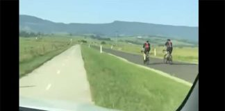 Automovilista insulta a ciclistas