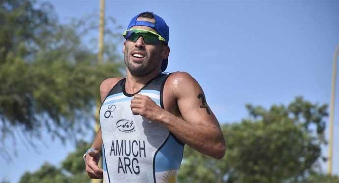 Triatlón; Yamil Amuch