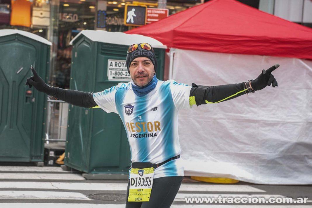 Argentinos en el Half Marathon de NYC
