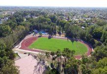 Inauguran pista de Atletismo