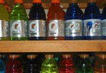 Pelirgo en las bebidas isotonicas