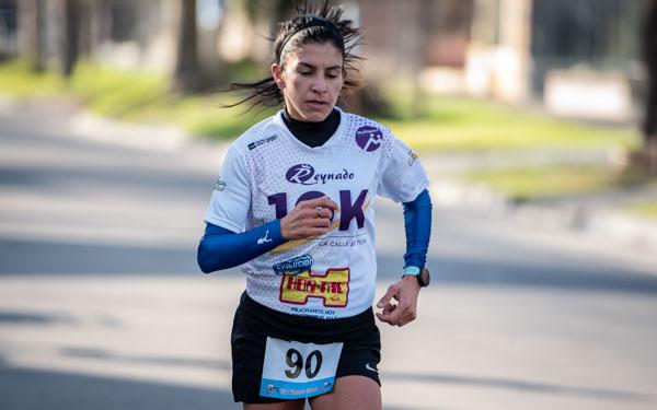 Daiana Ocampo ganadora entre las damas