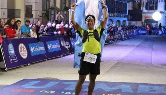 Santos Gabriel Rueda participo en una de las carreras mas dura del mundo