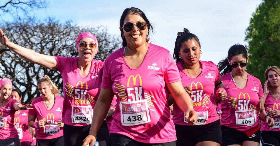 Carrera pedestre en Buenos Aires de 5 K