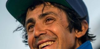 Un plomero argentino se prepara para conseguir un récord Guiness