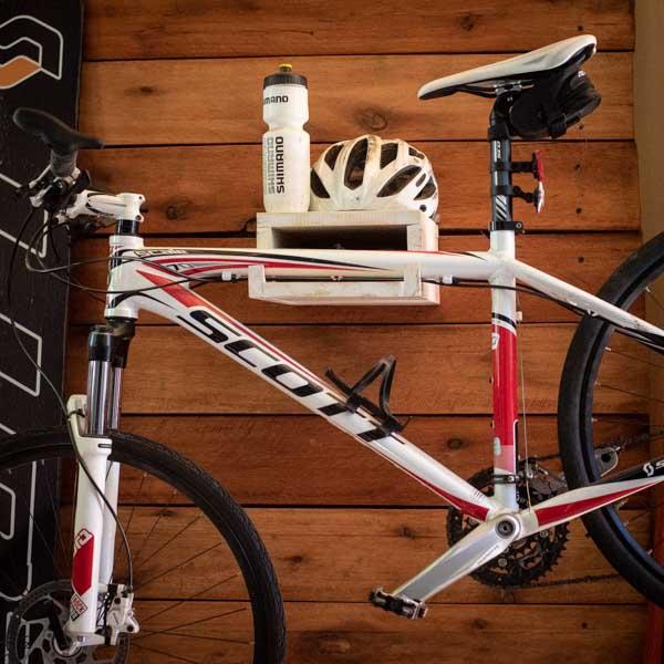 Estante Soporte para bike y accesorios