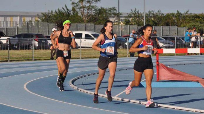Scappini, primera mujer trans en una carrera de atletismo