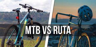 ¿Entrenar con bicicleta de ruta o MTB?